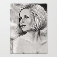 Swinging Sixties Miss Canvas Print