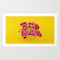 Better Together Art Print