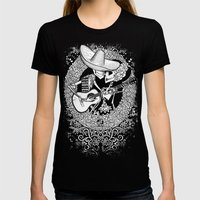 SERENATA Womens Fitted Tee Black SMALL