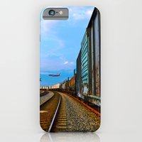 iPhone & iPod Case featuring Planes, Trains, but no Automoblies by Sookie Endo