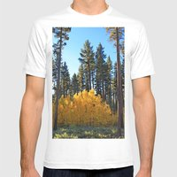Fall Foliage Mens Fitted Tee White SMALL
