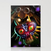 Majoras Mask Stationery Cards