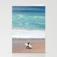 Lonely Surfer Stationery Cards