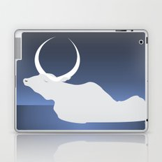 the moon landed softly on her head and stayed there...  Laptop & iPad Skin