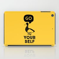 Go Duck Yourself iPad Case