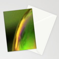 Golden green Stationery Cards