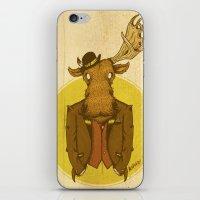 {Bosque Animal} Alce iPhone & iPod Skin