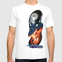 Eternally Symbiotic/Conf… Mens Fitted Tee White SMALL