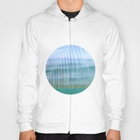 Palms over water  Hoody