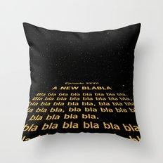 Episode XXVII - A New Blabla Throw Pillow