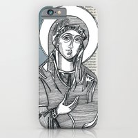 iPhone & iPod Case featuring Madonna of Today's Horoscope by Martha ter Horst