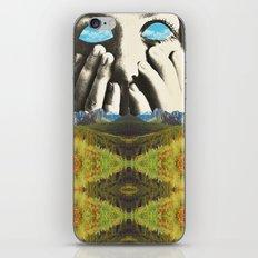 Nauges dans les yeux iPhone & iPod Skin