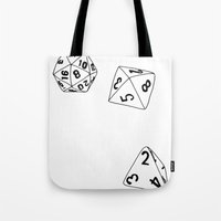 Dungeons And Dragons Dic… Tote Bag