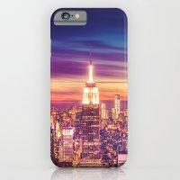 New York City Dusk Sunset iPhone 6 Slim Case