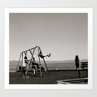 The Swing Set Art Print