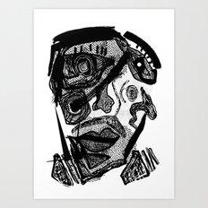 FACE #1 Art Print