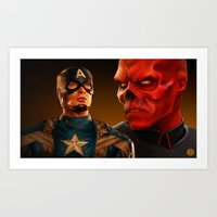 WHO'S YOUR CAPPIE? Art Print