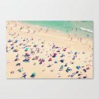 beach love - Nazare Canvas Print