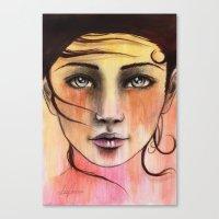 Femme Sunrise Canvas Print