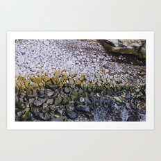 La Jolla Rocks Art Print