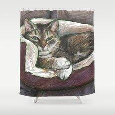 Pet Portrait 1  Shower Curtain