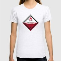 Kemical Womens Fitted Tee Ash Grey SMALL