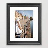 Hull Port Framed Art Print