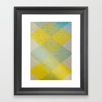 Remember Summer Framed Art Print