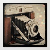 Vintage Camera Magic Canvas Print