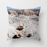 The Painted Desert & Pet… Throw Pillow