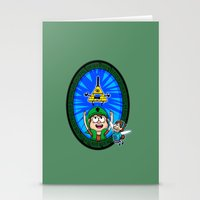 Gravity Falls: Hyrule Falls Stationery Cards
