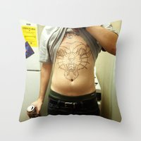 Ronn. Throw Pillow