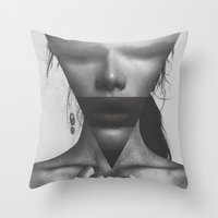 The Dimension Of Her Sou… Throw Pillow