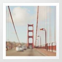 San Francisco Golden Gate Bridge. A Memory SF Art Print