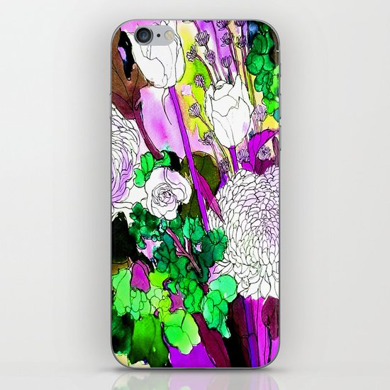 forest flowers 2 iPhone & iPod Skin
