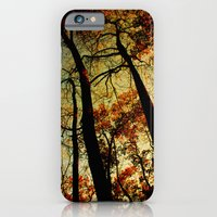 Fall Sunset Trees iPhone 6 Slim Case