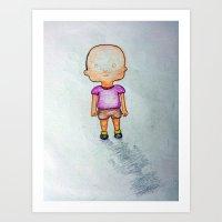Tipito Solapa Art Print