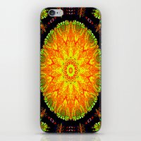 Citrus Slice Kaleidoscope iPhone & iPod Skin