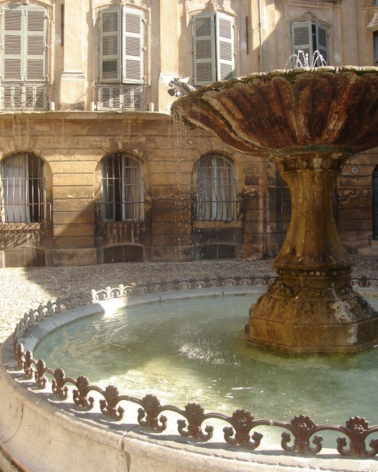 La Fontaine Art Print