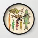 Freshwater Freaks Wall Clock