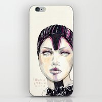 Fashion Illustration  iPhone & iPod Skin