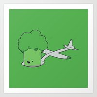 Here comes the Airplane! Art Print