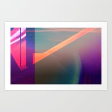 mind ~ sea : 1 Art Print
