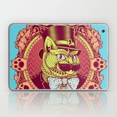 Hipster Mustache Cat Laptop & iPad Skin