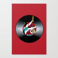 Geisha: Mistress of Rock Canvas Print