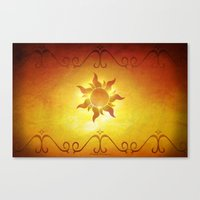 ...and At Last I See The… Canvas Print