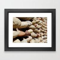 River Gems Framed Art Print