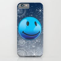 iPhone Cases featuring Sparkle Night by Rachel Caldwell