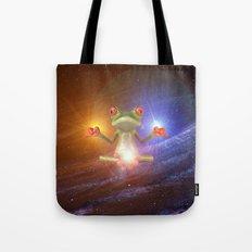 Zen Frog Tote Bag