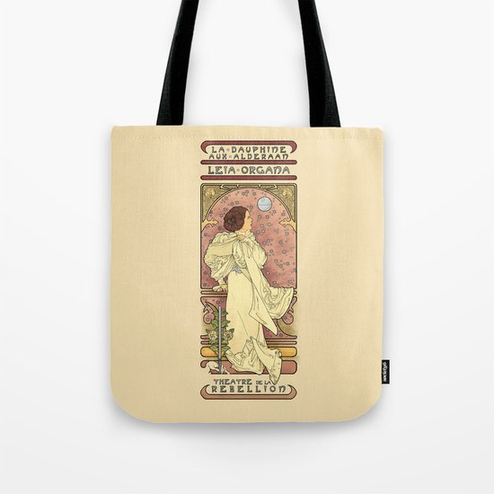 La Dauphine Aux Alderaan Tote Bag